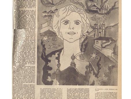 Capa do primeiro Jornal Horizonte   outubro de 1980