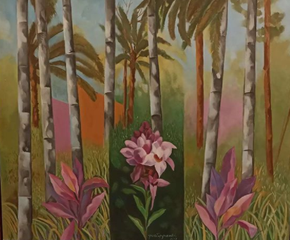 Visite as obras de Yara Tupynambá  expostas no Centro Cultural Banco do Brasil