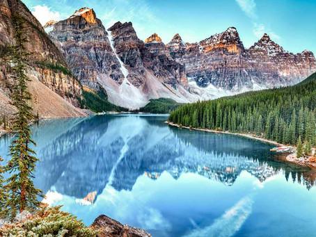 Parque Nacional Banff no Canadá