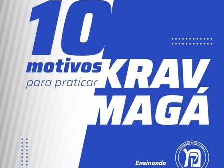 10 Motivos para praticar Krav Magá