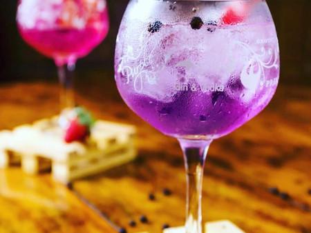 Purple Gin e Vodka