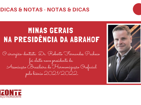 Minas Gerais na Presidência da ABRAHOF -  Dr. Roberto Fernandes Pacheco
