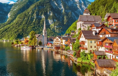 Paraíso Austríaco chamado Hallstatt