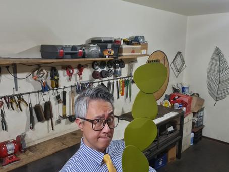 Ronaldo Nakamura -  O artista que movimenta o ferro