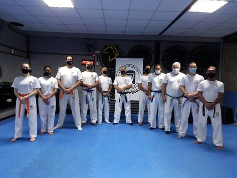 Aula inaugural de Krav Magá no Galpão Academia em Betim