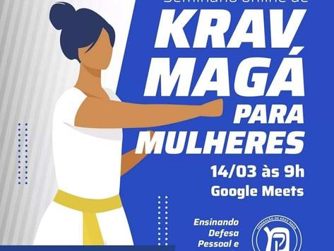 Seminário on line de Krav Magá para mulheres