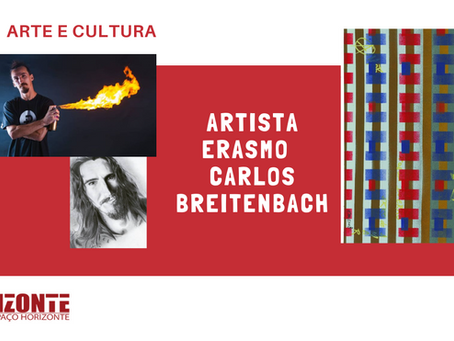 APOIE UM ARTISTA  -  Erasmo  Breitenbach é convidado para expor sua obra no Carrossel do Louvre
