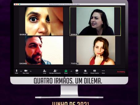 """Estréia On-Line da Peça """"Acontece Nas Melhores Famílias"""""""