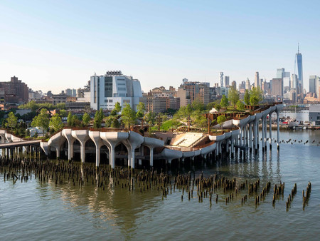 Little Island  - O novo parque flutuante de New York sobre o Rio Hudson
