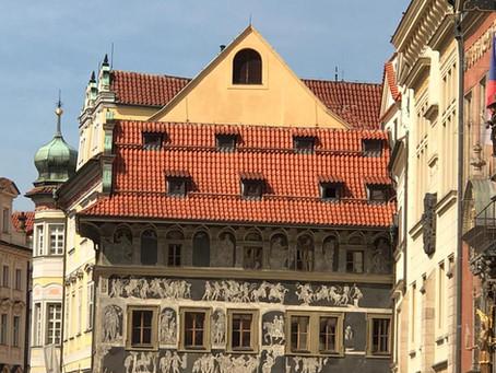 A belíssima arquitetura Art Nouveau em Praga