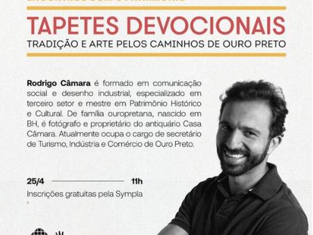 Tapetes devocionais  - Patrimônio Imaterial de Ouro Preto