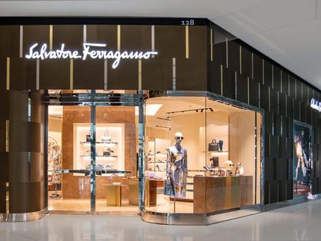 SALVATORE  FERRAGAMO consolida sua presença no mercado brasileiro abrindo duas novas lojas