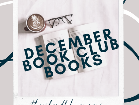 Book Club: December Books