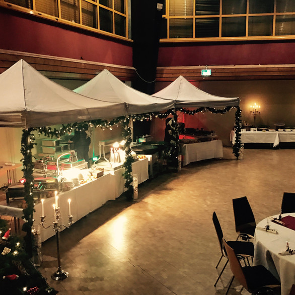 Indoor-Weihnachtsmarkt
