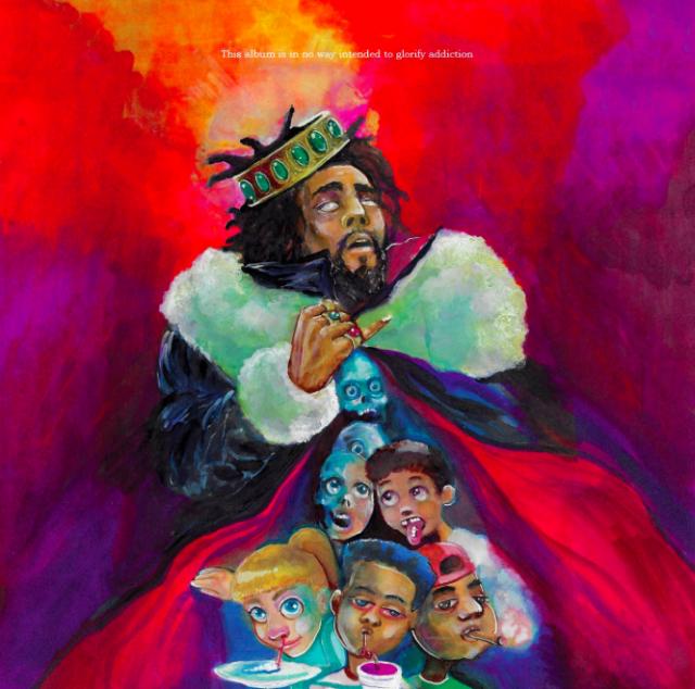 J. Cole KOD Album Artwork