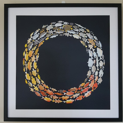 Swimming in circles (Diptych - 1 of 2)
