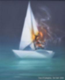 Tom O'Callaghan, 'Set Sail', 2018.jpg