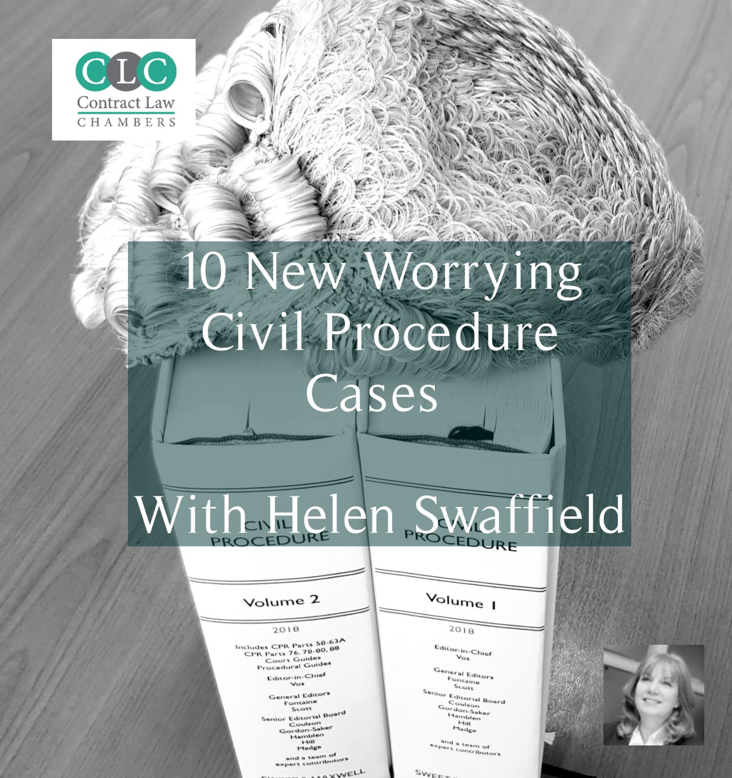 10 New Worrying Civil Procedure Cases