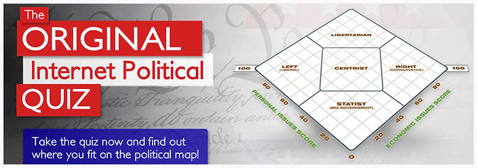 Political Quiz Are you Liberty Minded