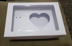 caixa para ovo de colher for coracao