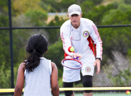 Lake Travis Tennis Association giveschildren and parents the opportunity to learn tennis together