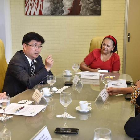 Rio grande do Norte está preparando para investidores Chinês no diverso aréa.