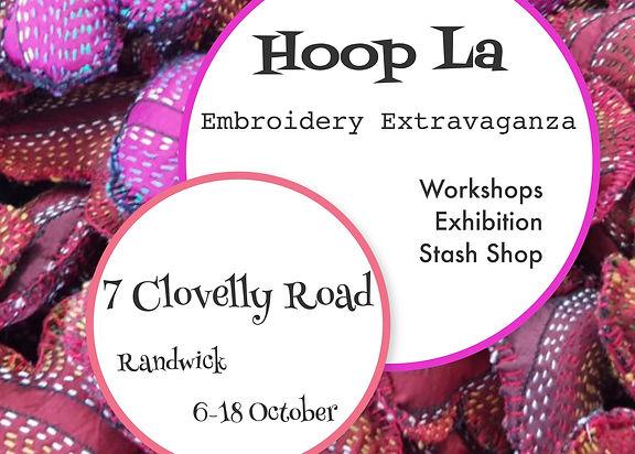 Hoop La Embroidery Extravaganza @7Clovel