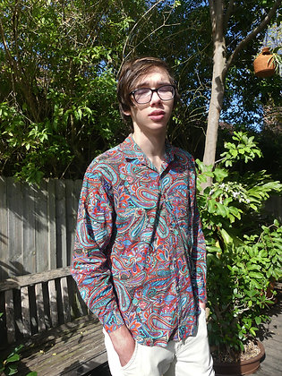 Disco paisley shirt