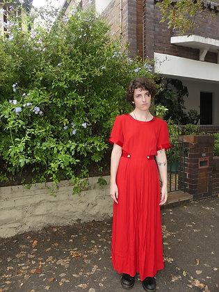 80's Valentine's gown