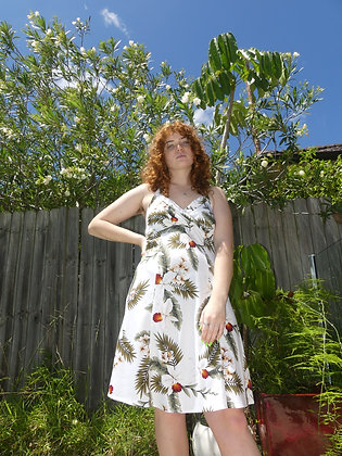 70s hawaiian dress