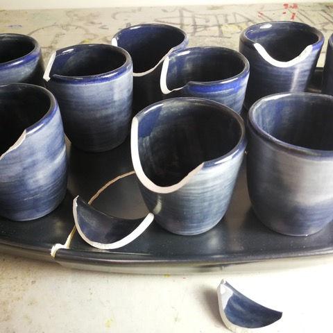Kintsugi ceramic mending class