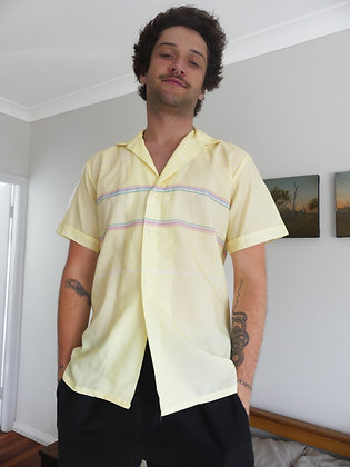60's casual summer shirt