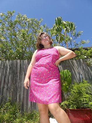 90's hot pink sundress