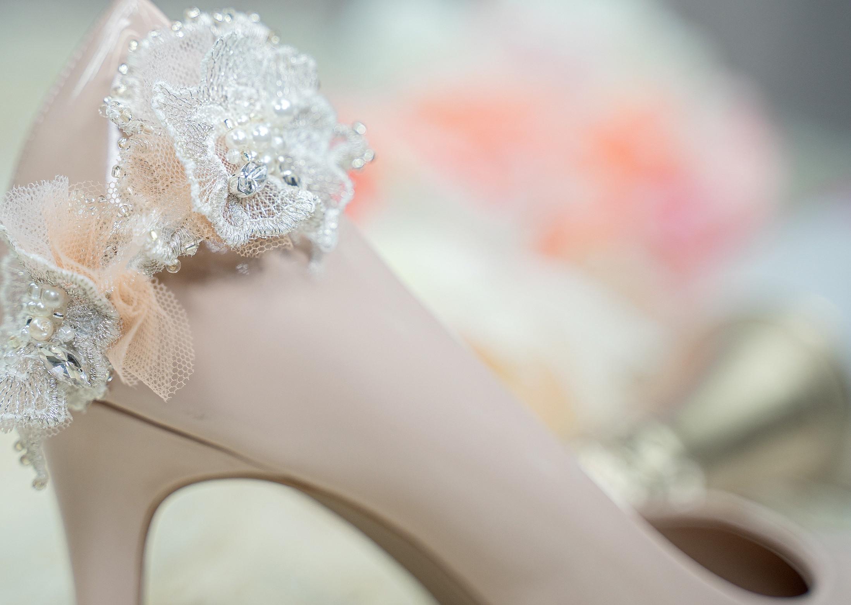 Embellished shoe clip