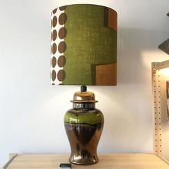 Vintage lamp with original shade
