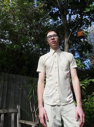 70's cream body shirt