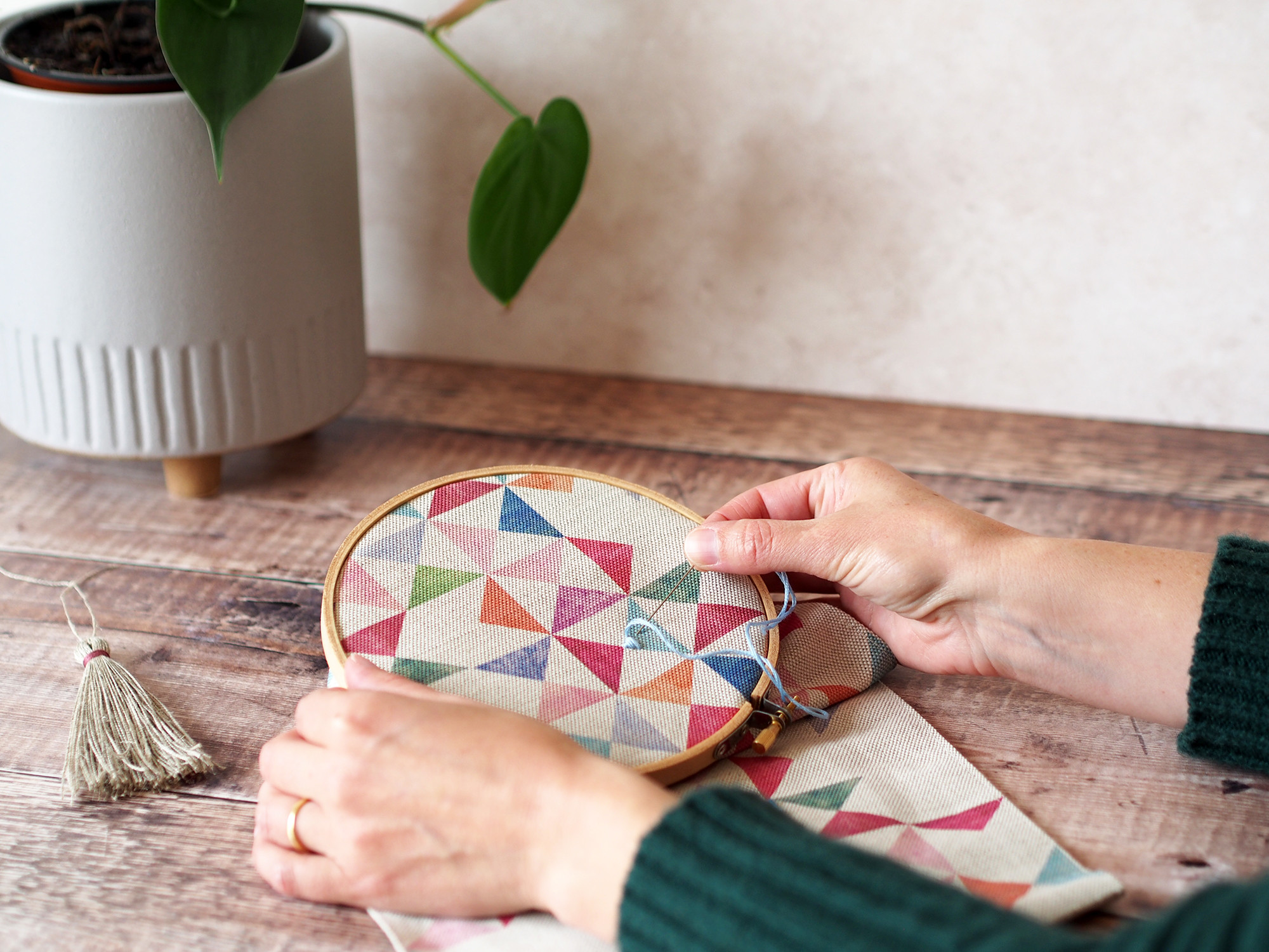 Embroidered Wall Hanging Workshop