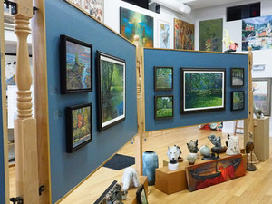 Morton Art Featured at Gallery Deboer, Owen Sound, ON
