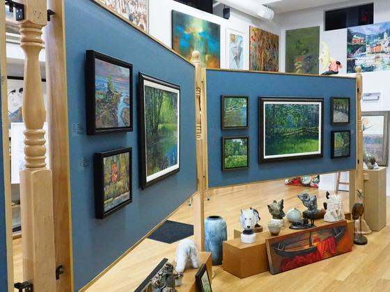 Morton Art Featured at Gallery Deboer, Owen Sound, ON