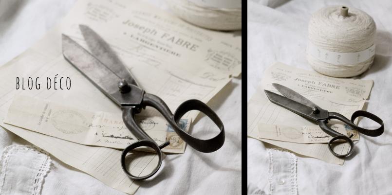 Brocante - décoration vintage industrielle campagne -Blog déco - Panière courrier