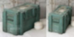 Brocante - décoration industrielle - Meuble de métier - Meuble d'atelier
