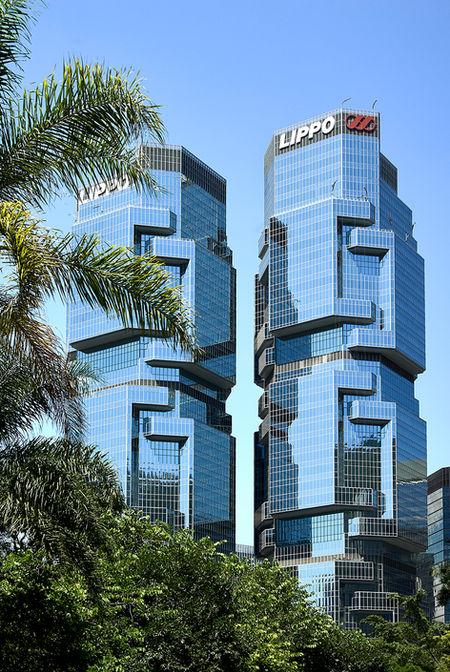 Hong Kong Twin Lippo Towers