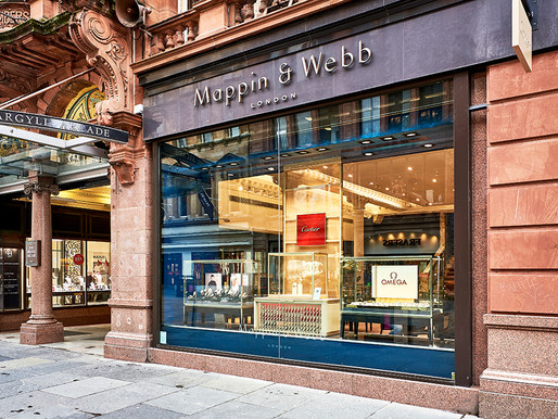 Mappin & Webb in the heart of Glasgow