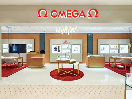 Omega Boutique at Goldsmiths, Brent Cross In London