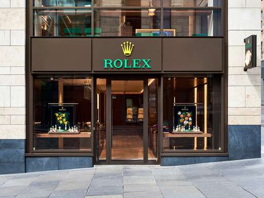 What it was like to photograph the first Rolex Boutique in Scotland