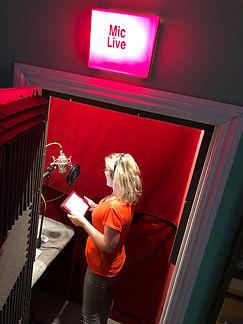 Eilidh Beaton in studio