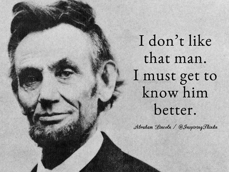 Bridging the Data - Business Gap: Abraham Lincoln Style