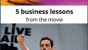 5 lessons from the movie: Bohemian Rhapsody