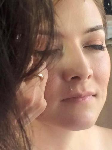 Layla natural pretty lashes + makeup