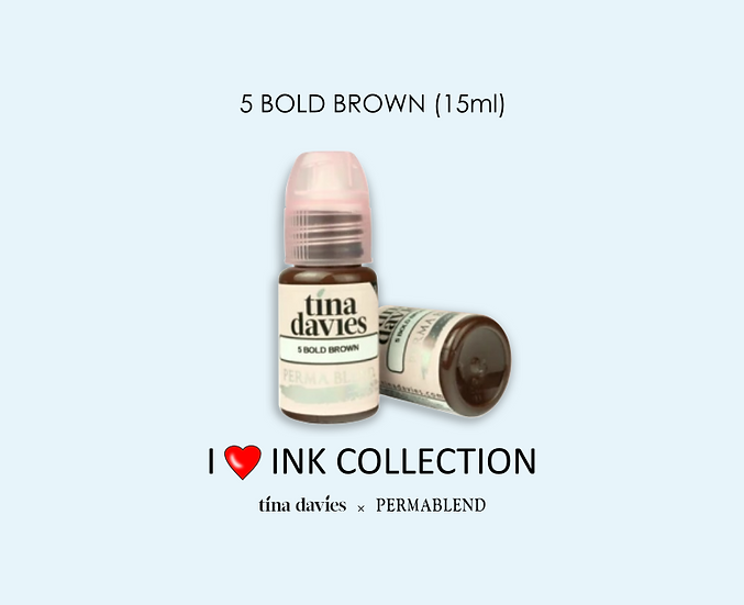 5 BOLD BROWN Pigment (15ml)